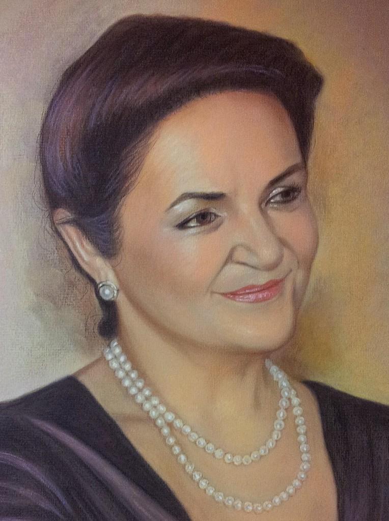 Портрет пастелью учителю в краснодаре