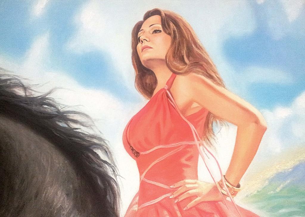 портрет живопись маслом