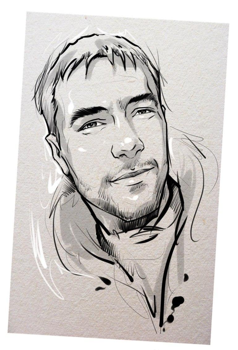 Портрет карандашом любимому мужу в Краснодаре…