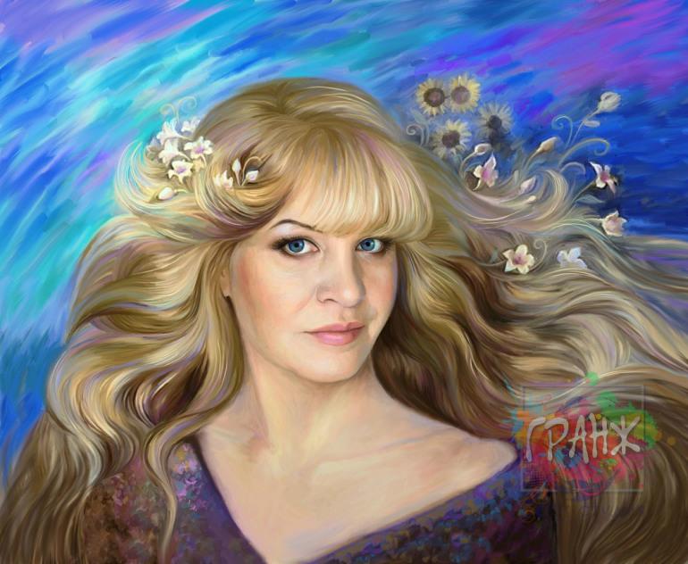 Настоящий портрет по фото на холсте в Краснодаре может стать Вашим…