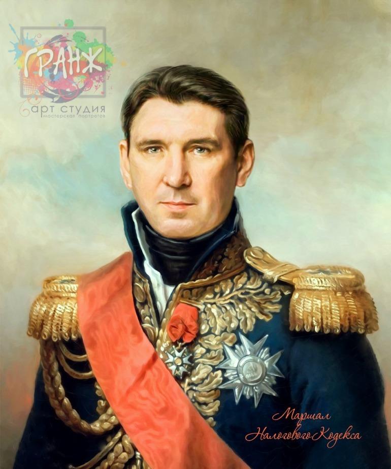 Портрет по фото на холсте в подарок мужчине Краснодар