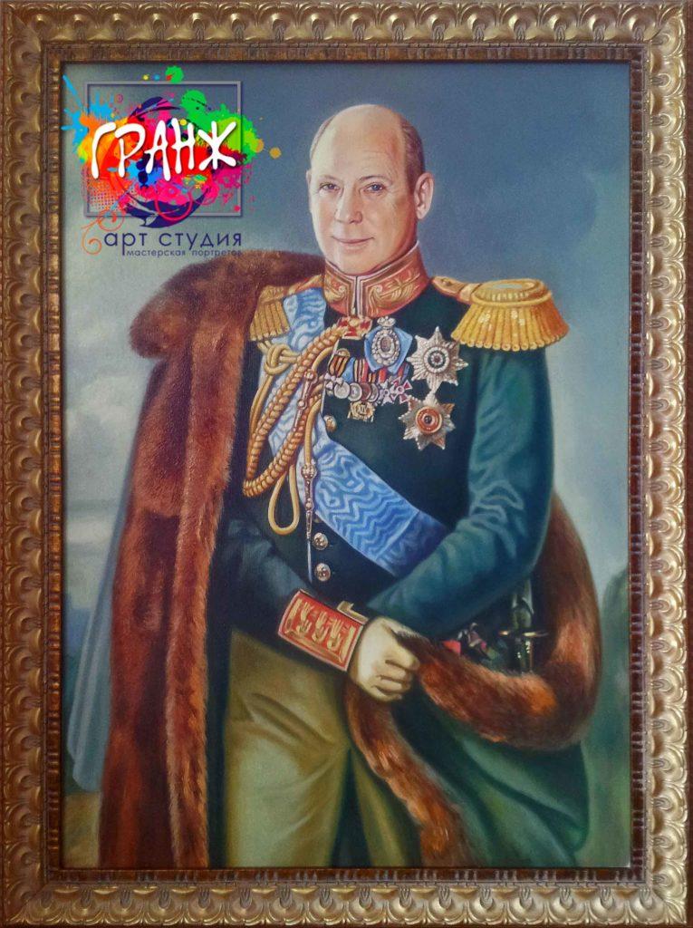Заказать портрет маслом по фотографии в Краснодаре