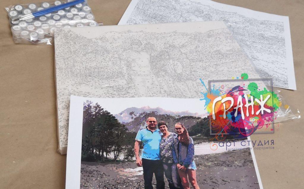 картин по номерам на холсте по фото Краснодар