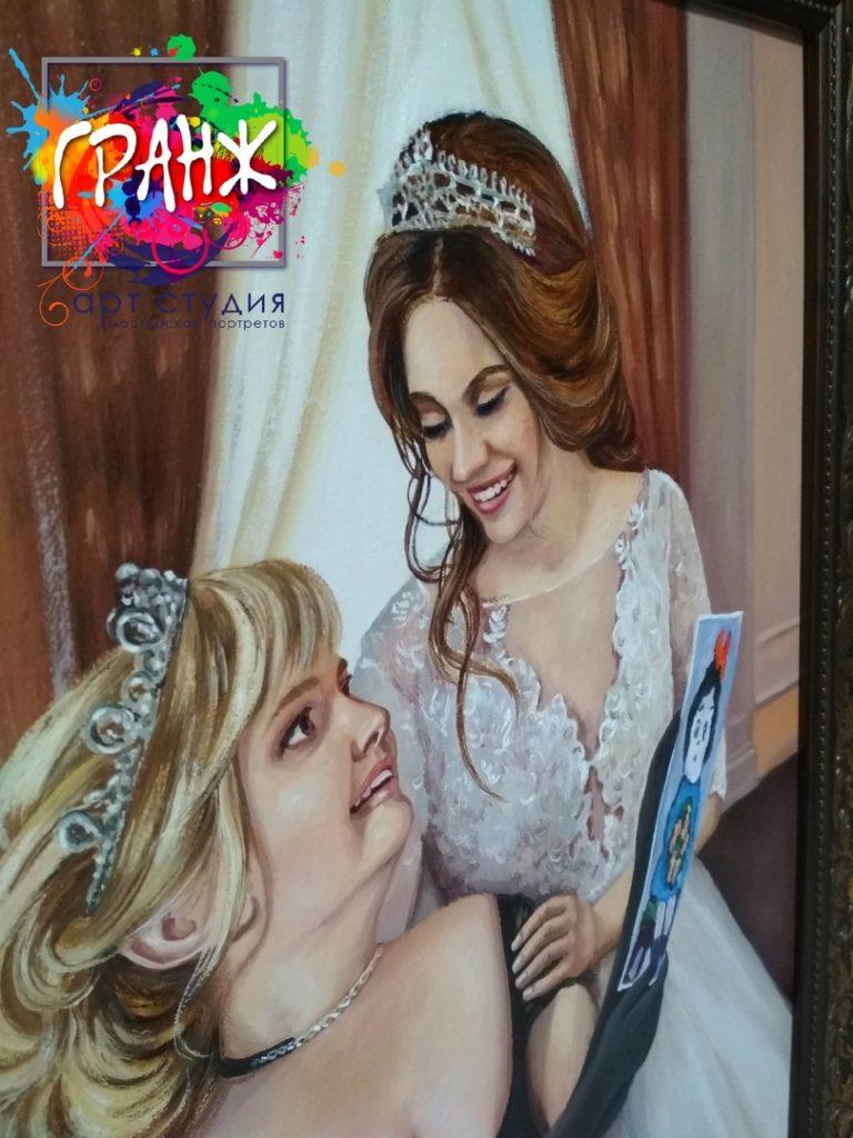 картина маслом портрет