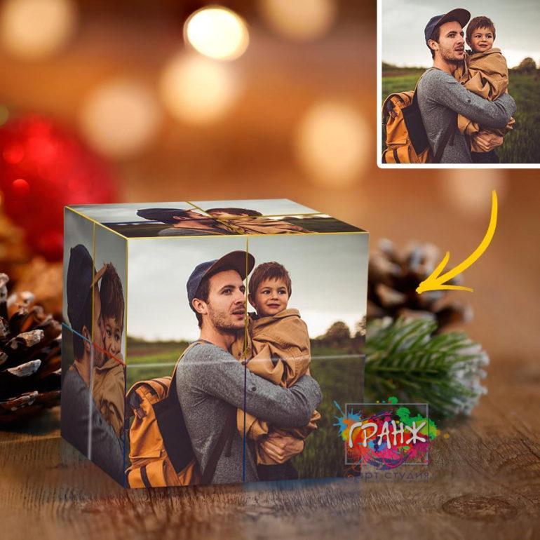 Фотокубик трансформер, купить в подарок Краснодар